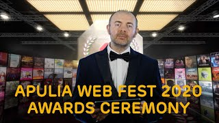 Apulia Web Fest 2020 Awards Ceremony