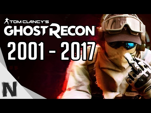 All Tom Clancy's Ghost Recon Game Trailers Evolution (2001-2017) Ghost Recon History PS4 Xbox PC