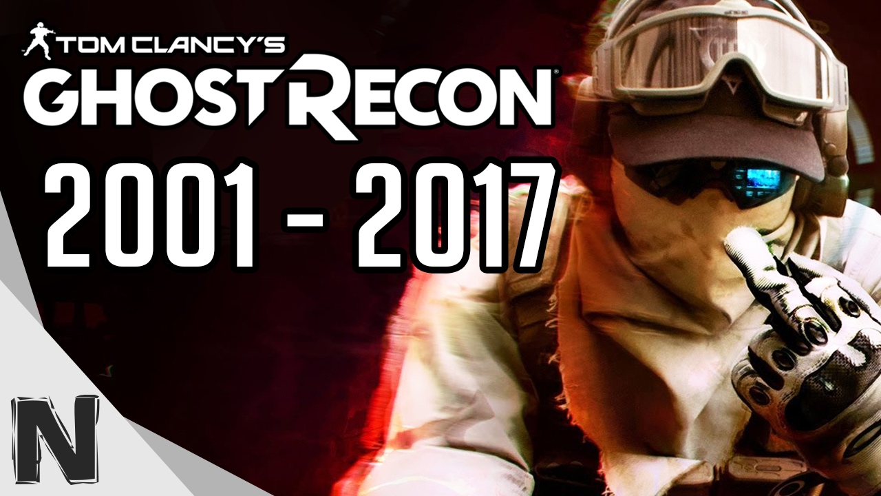 All Tom Clancy's Ghost Recon Game Trailers Evolution (2001-2017) Ghost Recon History PS4 Xbox P