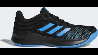 Unboxing sneakers Adidas Pro Spark Low 2018 AC8518