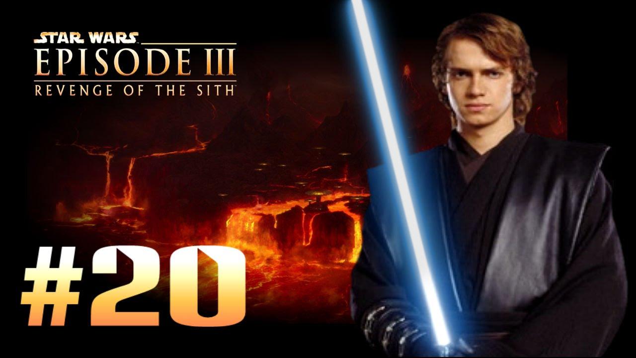 Star Wars Episode 3 Revenge Of The Sith Ps2 Walkthrough Bonus Level 3 Mustafar Lava Challenge Youtube