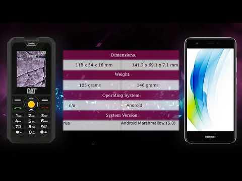 CAT B30 vs Huawei nova - Phone comparison