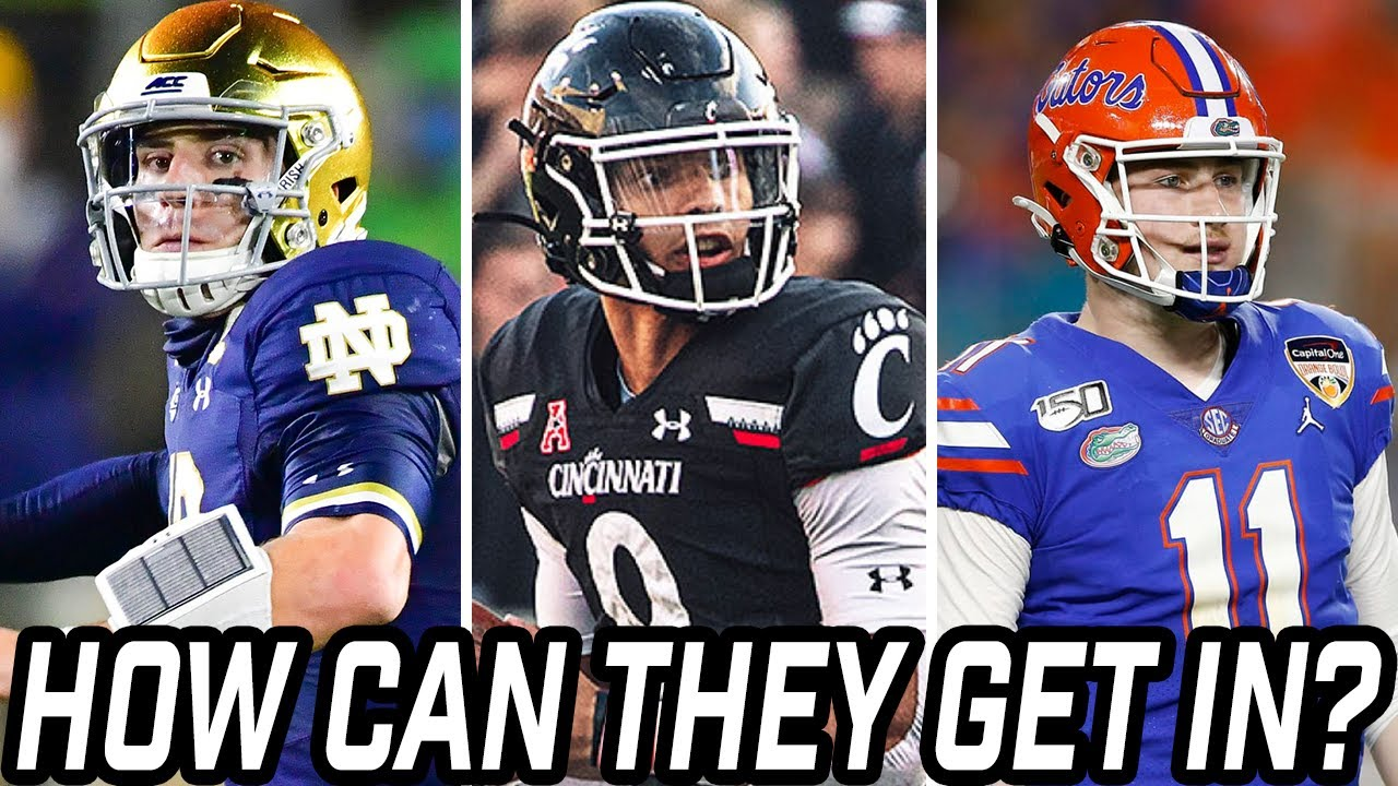 Every contender's chance to reach the College Football Playoff if it ...
