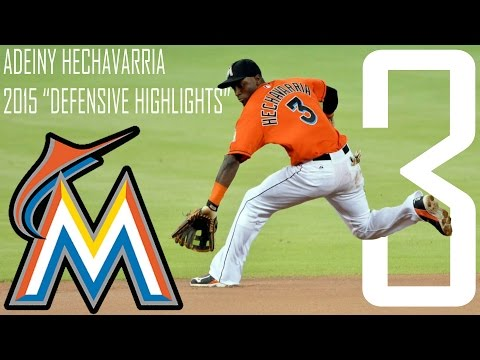 Adeiny Hechavarria   Miami Marlins   2015 Defensive Highlights   HD