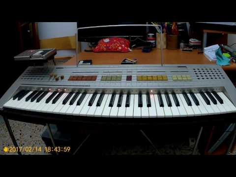 80's Vintage GEM G-30 Keyboard LEM Synth Midi Pianola Electronic Techno synthesizer Generalmusic