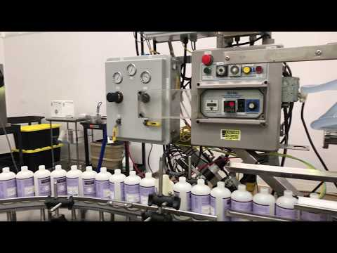 Formula Corp. Retail Product filling line Overview