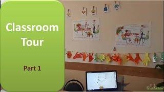 classroom tour #1 Мой кабинет: доска-мечта, бельевые веревки, сувениры, постеры и тд