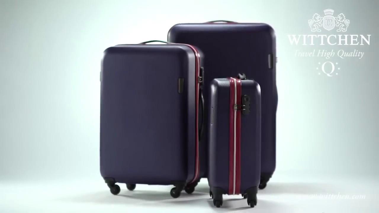 Чемоданы wittchen travel дорожные чемоданы минск