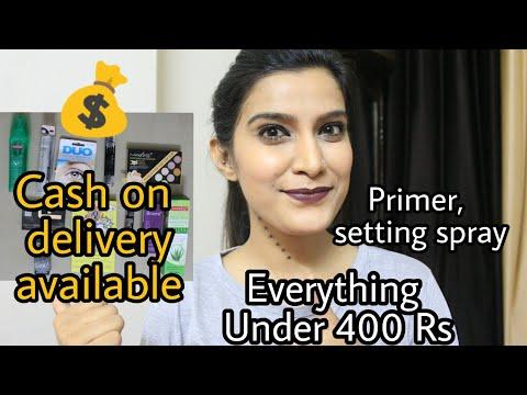 Cash On Delivery | Makeup Under 400 Rs|  Affordable Primer, Makeup Fixer| Mars | ADS| Me Now |