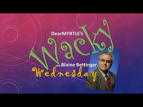 WACKY Wednesday: DNA With Blaine Bettinger