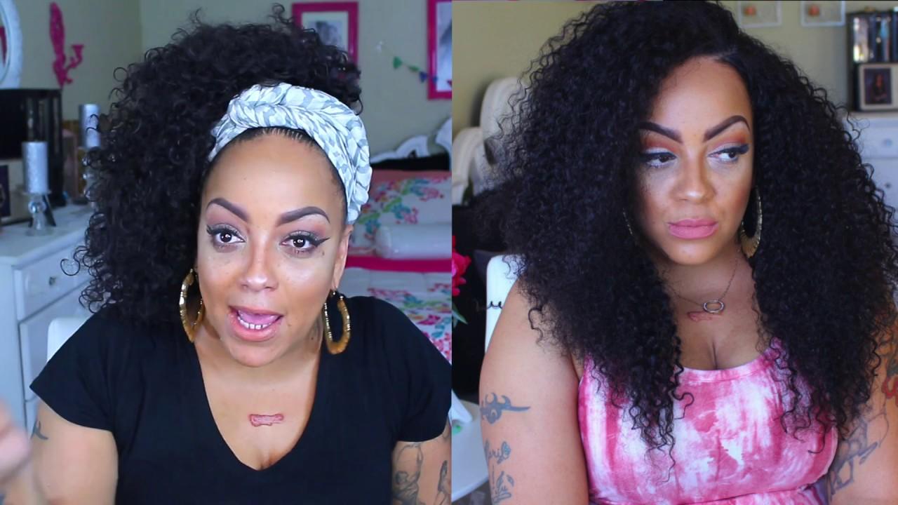 Dyhair777 Hair Recap Update Virgin Brazilian Deep Wave Wig