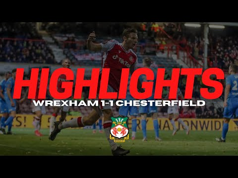 Wrexham Chesterfield Goals And Highlights