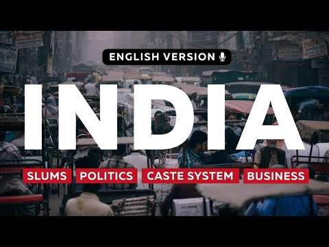 India. Real life in New Delhi: caste system, politics, slums and business