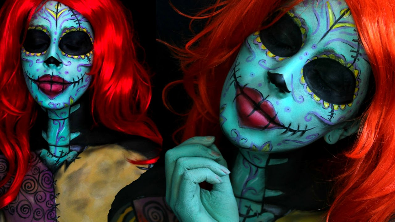 Twisted Christmas: Sally (The Nightmare Before Christmas) Makeup ...