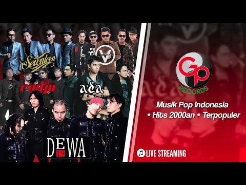 Lagu Pop Indonesia Hits 2000an • DEWA19/FIVEMINUTES/THE ROCK/MULAN #LIVEMusicStream (Kamis)