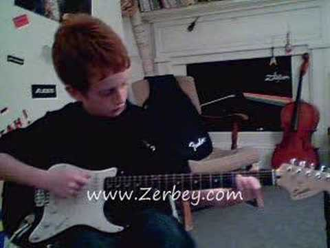 Guitar Music Lessons West Chester Pa - Will - Student of Zerbey