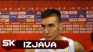Bogdan Bogdanović posle pobede nad Filipinima u 2. kolu Svetskog prvenstva   SPORT KLUB KOŠARKA