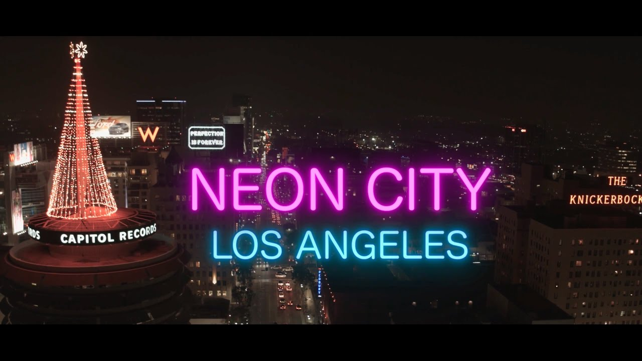 Neon City Los Angeles Youtube