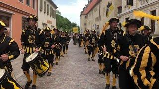 """Umzug beim Stadtfest """"Luthers Hochzeit"""""""