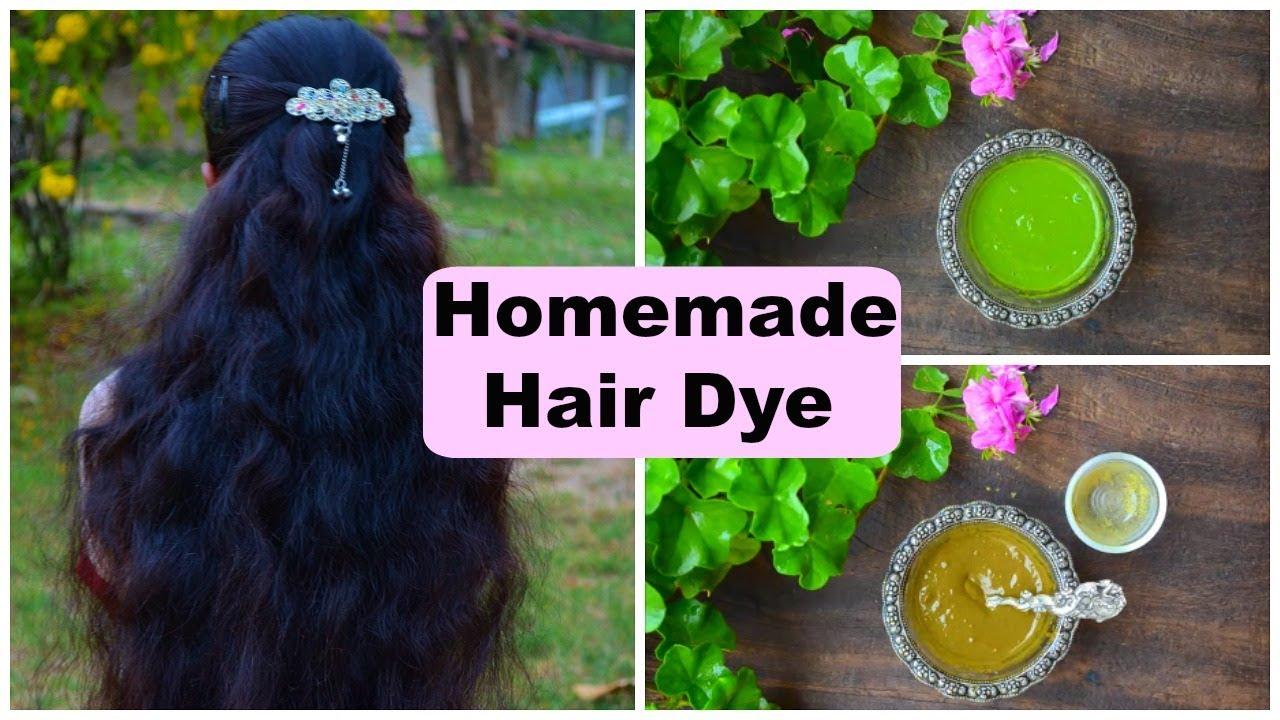 2 Natural Homemade Hair Dye Recipes Turn Grey Hair To Black