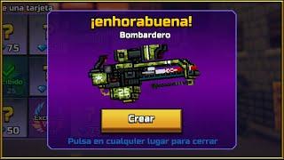 EL BOMBARDERO DESTRUCTIVO! MÁXIMO DE DAÑO! | Review Pieles | Pixel Gun 3D