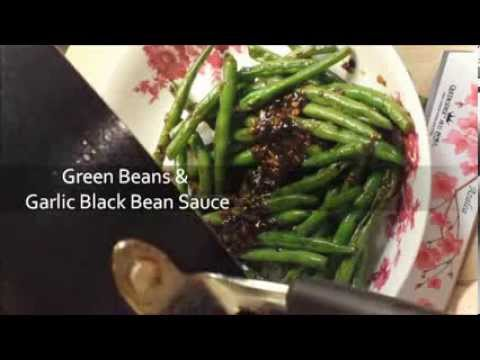 Green Beans With Black Bean Garlic Sauce