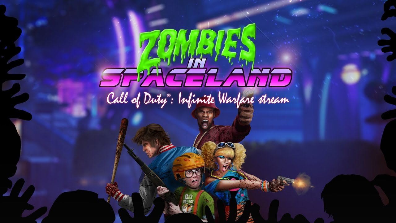 zombies in spaceland � call of duty174 infinite warfare