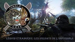 Légion Étrangère - Ecole de survie - Colombie, à balles réelles