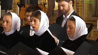 Праздничный хор Свято-Елисаветинского монастыря ''Святый Боже''