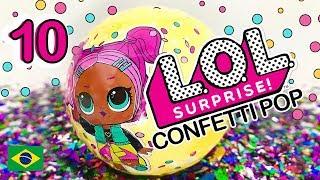 LOL Surpresa Confetes Boneca LOL Surprise em Portugues Confetti Pop