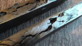 Нож кованый в трубе прессованый