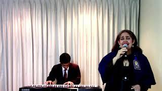 Himno Señor de los Milagros. Agrupación Musical Mozart Amanda Villamonte, Daniel Vega +51 999959993