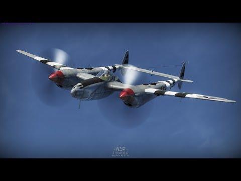 P-38 Combat Air Patrol and emergency landing