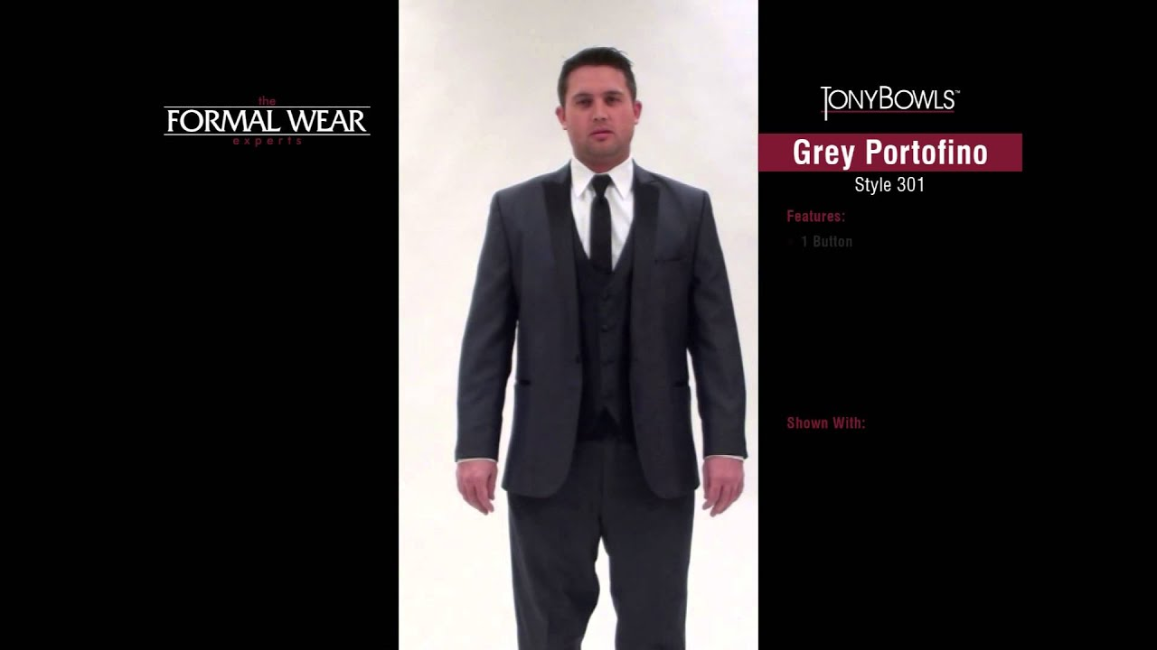Tony Bowls Prom Tux