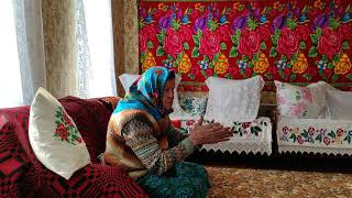 Белорусская мастерица, 91 год, о жизни и труде. Belarusian craftswoman, 91 years old  .