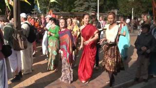 Ratha Yatra 2010 part12of12 Palanga, LITHUANIA