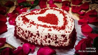 রেড ভ্যালভেট কেক | Bangla Red Velvet Cake Recipe | ভেলভেট