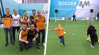 Dean Windass joins the Hull City fans for the Soccer AM Volley Challenge!