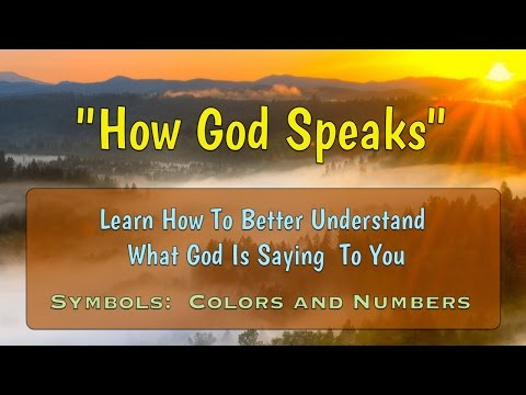 How God Speaks (Colors and Numbers)