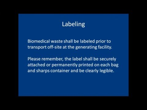 Florida Bio-Medical Waste Training Presentation