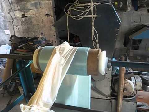 Maquina adaptada para blocagem de sacolas youtube - Maquinas para pintar ...