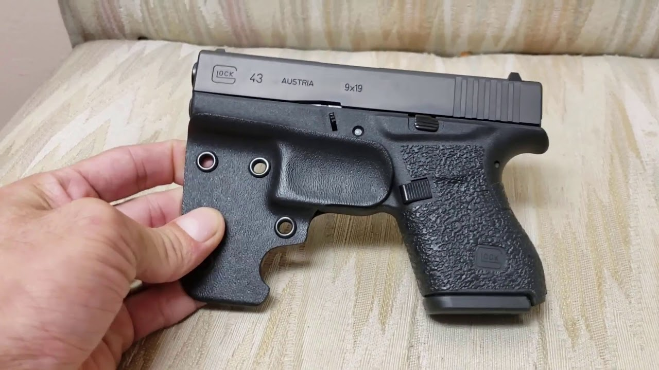 Concealed Carry Option - Glock G43 with BORAII Pocket Carry Holster