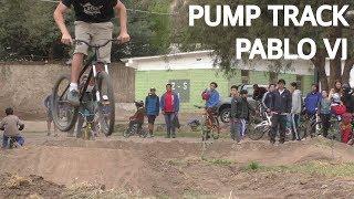 Bicicletas y pump track en el Hogar Pablo VI !