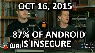 "The WAN Show - 87% of Android Devices are ""Insecure"" - October 16, 2015"