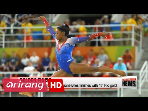 Rio 2016: Simone Biles finishes with 4th Rio gold