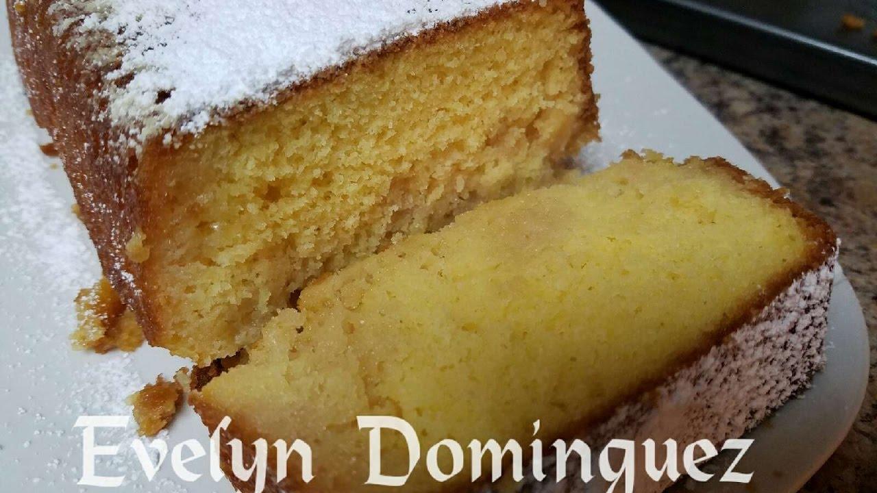 Puerto Rican Rum Pound Cake