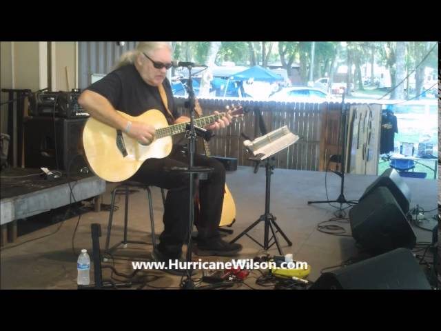 "Roger 'Hurricane"" Wilson Performing Lowell George's WILLIN' at Camping With The Blues"
