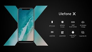 Ulefone X. CLONE IPHONE X
