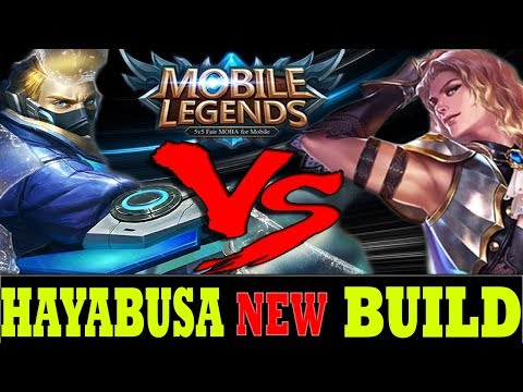 HAYABUSA NEW BUILD VS LANCELOT OP HERO #17 - Mobile Legends