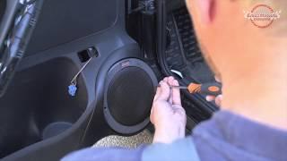 Изготовление подиумов для акустики Polo Sedan